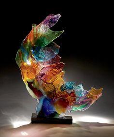 Echo by Caleb Nichols (Art Glass Sculpture)   Artful Home