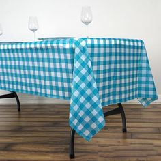 """Buffalo Plaid Tablecloth 