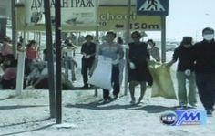 몽골 장길자회장님 국제위러브유운동본부_ 클린월드운동  몽골 국제위러브유운동본부(장길자회장님) 100여 명의 회원들 거리정화활동 클린월드운동