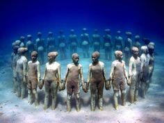 Underwater Museum in Mexico