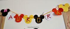 #ghirlanda #topolino Organizzare una #Festa di Compleanno per #bambini a tema Topolino- Mickey Mouse