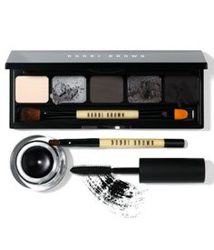 Bobbi Brown Smokey Eye Collection. Eeeeeee!! Worth it for the liner alone.