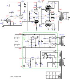 Closeup of schematic Hobby Electronics, Electronics Projects, Radios, Subwoofer Box Design, New Electronic Gadgets, Cool Emoji, Power Supply Circuit, Valve Amplifier, Electronic Schematics
