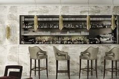 Elegant bar stools - INDUSTRIAL STYLE HOME BAR: 10 COUNTER STOOLS TO DIE FOR | See more at: http://vintageindustrialstyle.com/industrial-style-home-bar-counter-stools-die/