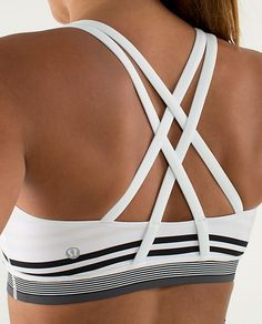 why we made this We designed this low support bra for the well endowed among us. A wide band under the bust gives the ladies a ledge to lean on and the full coverage in front ensures we're not exposing our assets. $48.00