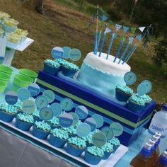 Splash! Pool Birthday Party