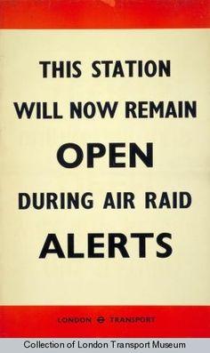 Air Raids 1940