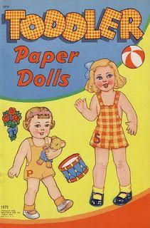 Toddler paper dolls