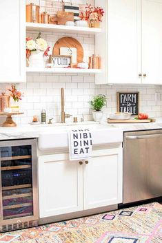 Coastal Style Hamptons Style Kitchen Makeover Kitchen