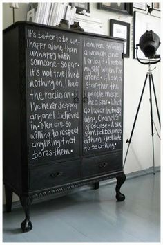 Chalk Boards - Too Cool for School - Our BLOG - Different ways to use Chalk boards in your home.