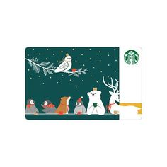 This is Starbucks coffee Korea 2019 Christmas Animals Card. 2019 Christmas Animals Card. Only you can use these cards in South Korea (Local KOREA Card). Not open PIN Cover This card is the Second Christmas Card.