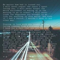 Things I didn't say...