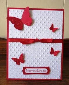 Indiana Inker - Mother's Day Card - Butterflies  Stampin' Up!