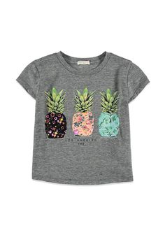 Pineapple Graphic Tee (Kids) | Forever 21 girls - 2002247927
