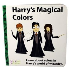 Harry's Magical Colors childrens board book based on Harry Potter | My First Fandom