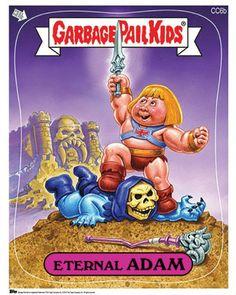 Garbage Pail Kids versão geek