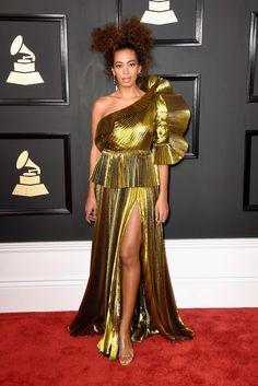 Solange Knowles - Gucci dress