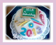 Torte zur Einschulung ... Cake for school enrollment https://www.facebook.com/fairy.designer.cake/