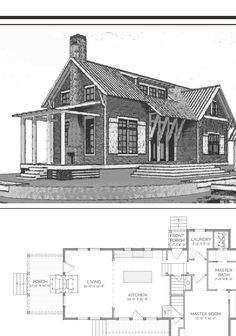 Dog Trot House Plans, Cabin House Plans, Cabin Floor Plans, New House Plans, Cabin Ideas, House Ideas, Simple Floor Plans, Farmhouse Floor Plans, Cabin Homes