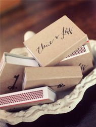 DIY Matchbooks by Papermade