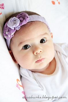 ThanksDIY headbands made from old baby clothes! awesome pin