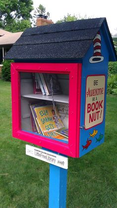 Seuss-Inspired Little Free Libraries - Little Free Library