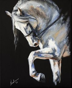 Horse Art: Nadina Ironia on Cavalcade