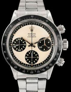 1970 ROLEX VINTAGE DAYTONA 6263 PAUL NEWMAN PANDA STEEL CHRONOGRAPH - http://menswomenswatches.com/1970-rolex-vintage-daytona-6263-paul-newman-panda-steel-chronograph/ COMMENT.