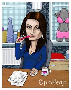 Carla Connor, Alison King Carla Connor, Alison King, Coronation Street, Keep Calm And Love, Caricatures, Street Art, Stars, Disney Characters, Sterne
