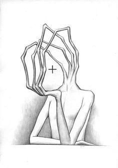Mind-Bending Sketches: Alex Andreyev Draws Disturbing Nightmares