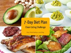 7-Day Keto/Paleo Diet Plan (Clean Eating Challenge)