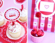 A Love Note Valentine Party from Love The Day | Love The Day