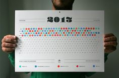 How was your day? Fix your memory by coloring the spaces and creating your own texture for the year 2013.
