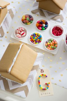 Gingerbread House Decorating Party! | Design Improvised, paint palette