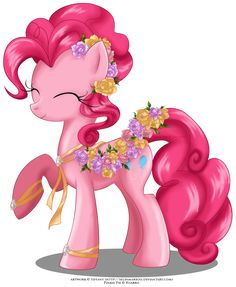 May Festival Pony - Pinkie Pie by selinmarsou on DeviantArt