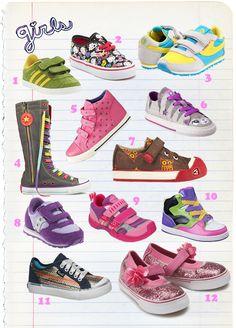 Best Girls Sneakers