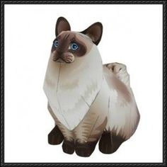 Canon Papercraft: Animals Paper Model - Ragdoll Cat free download