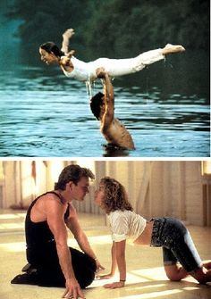 Dirty Dancing Patrick Swayze Jennifer Gray Two by BeefcakeAndBods, $6.50