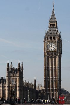 The Elizabeth Tower in London, England