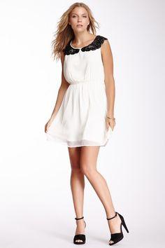 Beaded Collar Dress on HauteLook