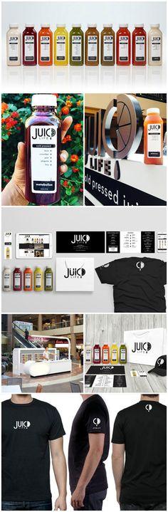 Juic,d Life, Branding & Identity, Graphic Design, Product Design, Design by Bar Napkin Productions, #BarNapkinProductions