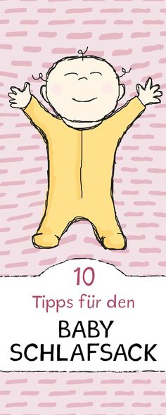 Eine wichtige Anschaffung nach der Geburt ist der Babyschlafsack! Das solltest du vor dem Kauf unbedingt wissen.