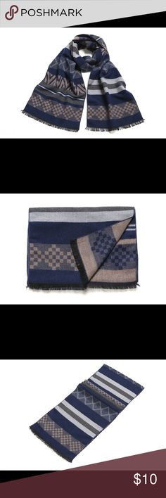 Men's Scarf Made of Rayon and Polyester Accessories Scarves