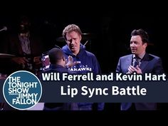 Will Ferrell and Kevin Hart Lip sync Battle