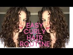 This Curly Hair Routine is non damaging to your hair. Wash & Go Curly Hair FINALLY! Its my new easy natural curly/wavy hair routine that I. Grey Curly Hair, Natural Wavy Hair, Curly Hair Tips, Curly Hair Care, Curly Hair Styles, Curly Hair Problems, Curly Hair Tutorial, Biracial Hair, Curly Hair Routine