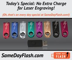 We offers Plastic Flash Drive, different shapes, color with wide range of Size Available 1GB, 2GB, 8GB, 16GB, 32GB, 128GB . Call Us. 800-879-8273 for Plastic USB Flash Drive.