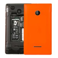 [USD3.91] [EUR3.59] [GBP2.79] Solid Color Battery Back Cover for Microsoft Lumia 532(Orange)