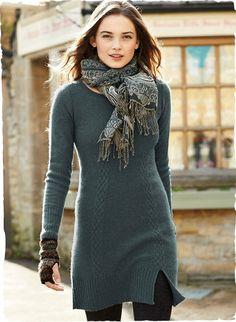 Vestido perfecto para este invierno. Vestido Cambridge Royal Alpaca.  #vestidos