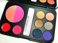 BH Cosmetics Forever Glam Makeup Palette Review & Swatches via @GlitzGlamBudget