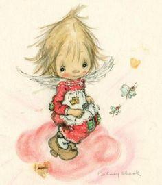 Clark Art, Holly Hobbie, Kewpie, Rag Dolls, Post Card, Cute Images, Christmas Images, Precious Moments, Doll Face